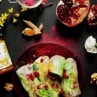 Spring rolls z quinoą i dżemem z rokitnika, pełne antyoksydantów i aminokwasów (bez glutenu, bez laktozy, wegańskie)