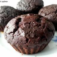 Fasolowe muffinki brownie