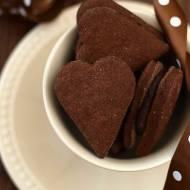 Walentynkowe ciasteczka (ostrrre i mocno czekoladowe)