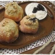 drożdżowe bułeczki na jogurcie greckim