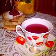 Gruszkowe placuszki z kaszy manny + kilka słów o herbacie