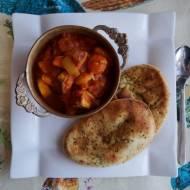Pomidorowo bananowe curry