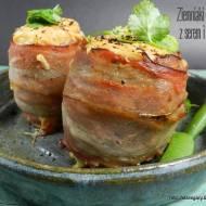 Ziemniaki zapiekane z serem i boczkiem
