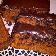 Ciasto czekoladowe wg Nigelli (z konfiturą pomarańczową)