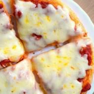 Bezglutenowa pizza w 15 minut - tylko 3 składniki :)