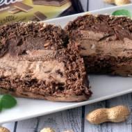 Ciasto podwójnie orzechowe z wafelkami