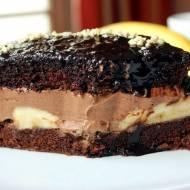 Czekoladowa rozpusta – czyli idealne ciasto z czekoladą i bananami