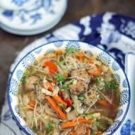 Ekspresowa zupa syczunska z klopsikami