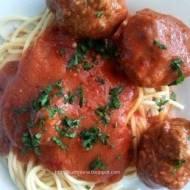 Spaghetti z klopsikami wg kota Garfielda