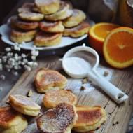 Aebleskiver - duńskie racuszki z pomarańczą i kardamonem na maślance