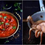 Curry z ośmiornicą