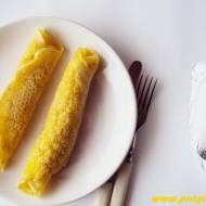 Naleśniki z mąką łubinową ( bez glutenu i jajek )