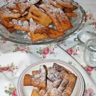 Chiacchiere - włoskie faworki