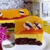 Ciasto dyniowa delicja bez tłuszczu