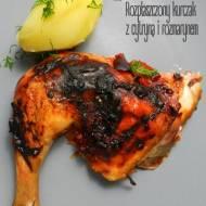 Rozpłaszczony kurczak z cytryną i rozmarynem