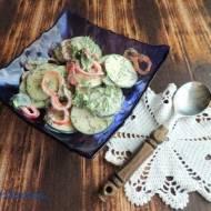 Surówka z cukini i papryki