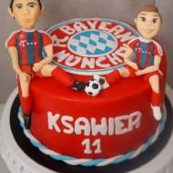 Torcik dla małego fana Bayern Monachium i Roberta Lewandowskiego