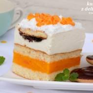 """ciasto """"kubuś"""" z delicjami i pianką"""