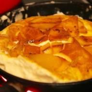 Pyszny omlet biszkoptowy z mango