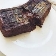 Czekoladowa lawa, czyli zdrowe śniadaniowe ciasto dla dwojga