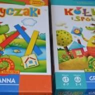 """""""Patyczaki"""" i """"Kółka i spółka"""" Granna"""