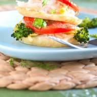 Pieczone plastry selera z ryżem, serem i pomidorem ♥ ♥ ♥