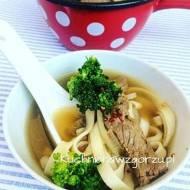 Zupa z wołowiną i brokułami, pyszny i prosty przepis