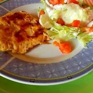 Filet z kurczaka - aromatyczny i soczysty kotlet .
