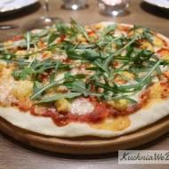 Pizza zkrewetkami