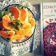 Sałata ze śmietaną, pomarańczami i mandarynkami