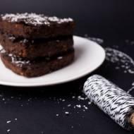 Walentynkowe brownie z batatów