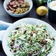Brokułowy slaw czyli sałatka z brokułami