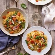 Spaghetti alla putanesca, czyli makaron dla zabieganych