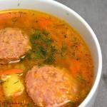 Zupa jarzynowa z metką