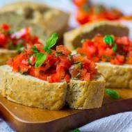 bruschetta paleo (bez glutenu, zbóż)