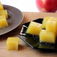 Jabłkowe galaretki w cukrze lub czekoladzie
