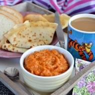 Krem śniadaniowy z batata, chia i rokitnika