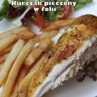Kurczak pieczony w folii