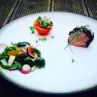 Paszet-smarowidło z bażanta z czarnuszką i grilowanym pomidorkiem