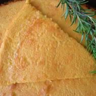 Placek z ciecierzycy, bez glutenu (Farinata di ceci, senza glutine)