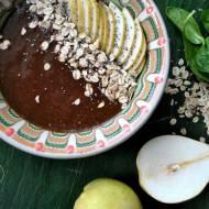 Szpinakowo-truskawkowa smoothie bowl