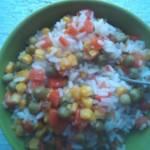 Błyskawiczny piątek - Ryż z warzywami