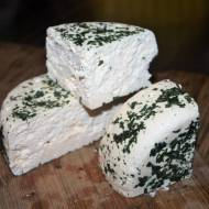"""""""Goraj"""", ser biały z czosnkiem niedźwiedzim"""