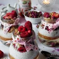 Różane słoiczki na śniadanie