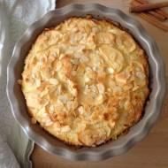 Torcik ryżowo-jabłkowy, bez mąki i masła (Torta di riso e mele, senza farina e burro)