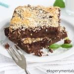 Ciasto czekoladowe z jabłkami (bezglutenowe)