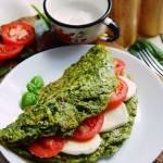 PROJEKT ŚNIADANIE: Zielony omlet pachnący latem