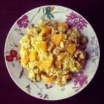 Risotto z indykiem i pomarańczą