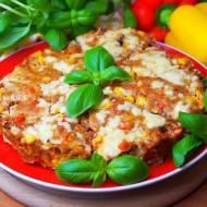 """Pizza"" z mięsa mielonego / Mięsna pizza"