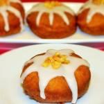 Pączki z marmoladą i lukrem z nutą pomarańczy